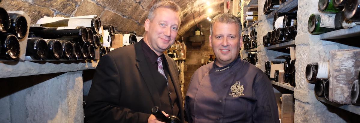 Andreas und Joerg Scherle Ausgezeichnete Weingastronomie 2020 von Selters und Der Feinschmecker