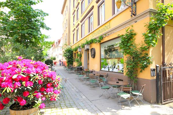 Weinstube und Weinhaus Stetter in Stuttgart Weinproben und Weinverkostungen Schön Draußen Sitzen